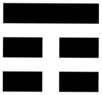 trigramma cinese monte