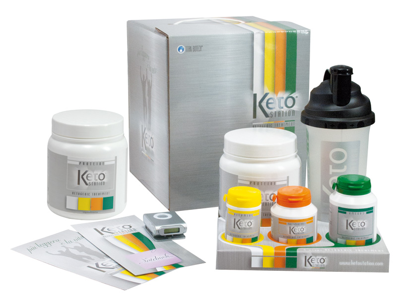packaging ketostation