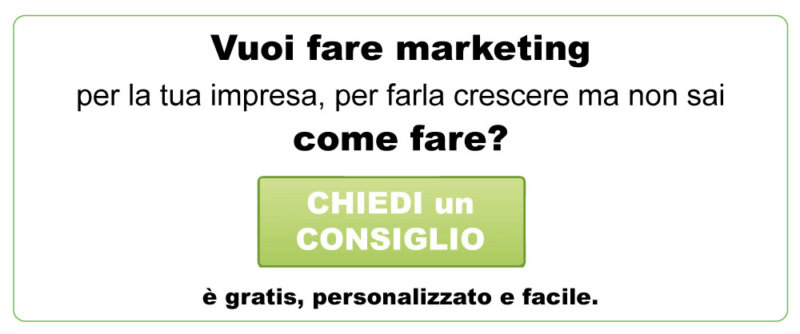 Consigli di Marketing