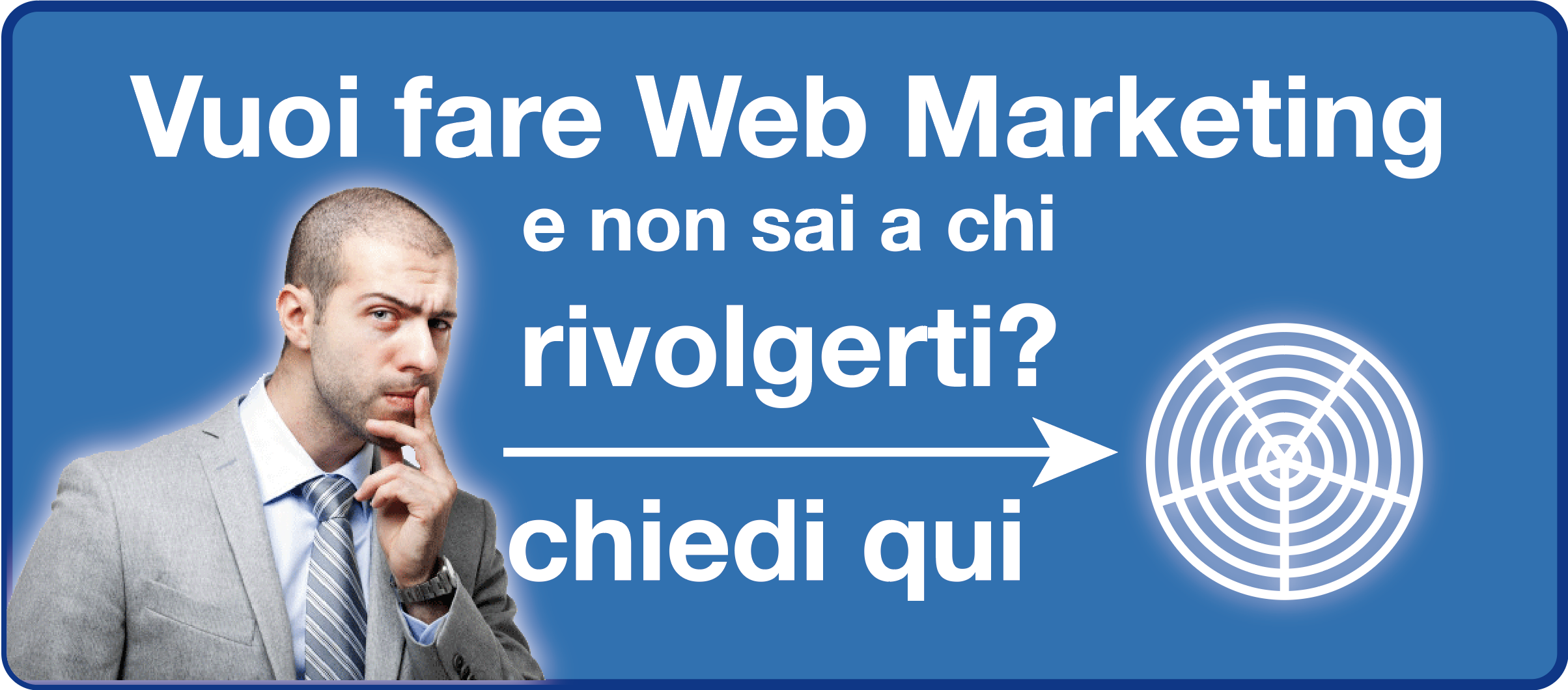 Banner web marketing